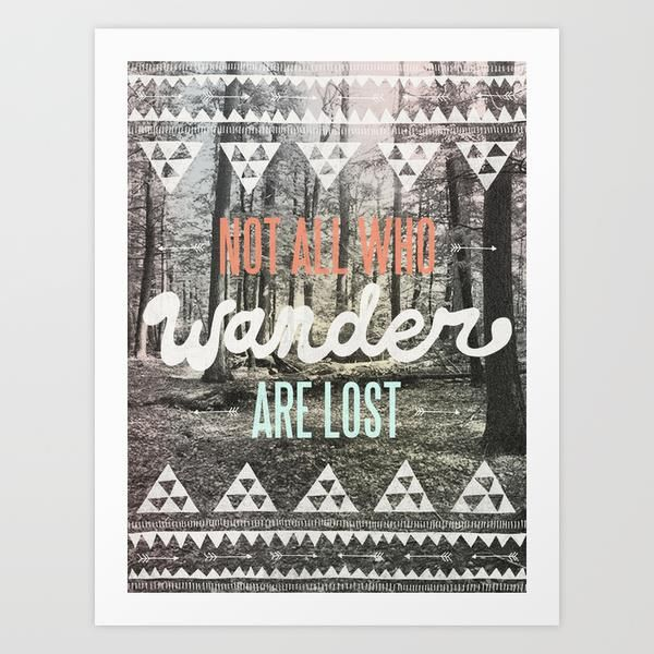 Wander by Wesley Bird motivationmonday print inspirational black white poster motivational quote inspiring gratitude word art bedroom beauty happiness success motivate inspire