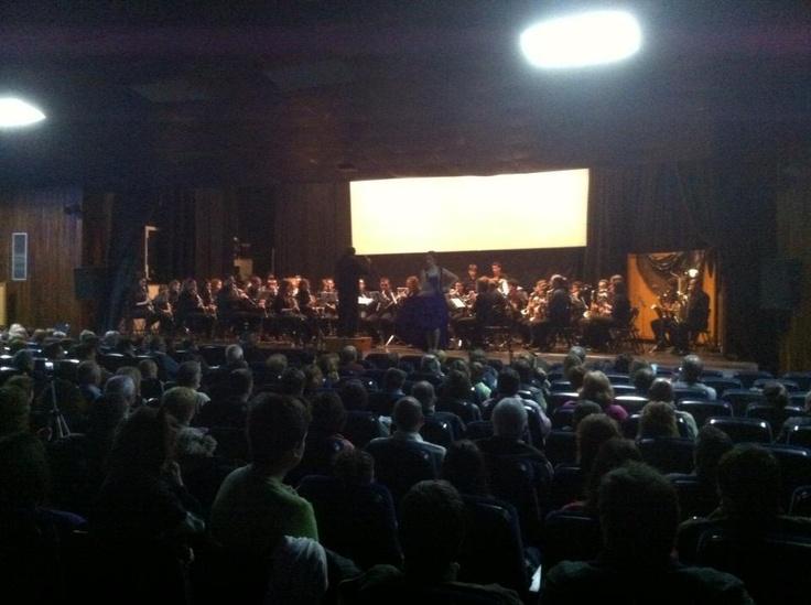 Iñigo Ruiz Cantaor. Concierto Santa Cecilia en Alfaro con Los Lunares.