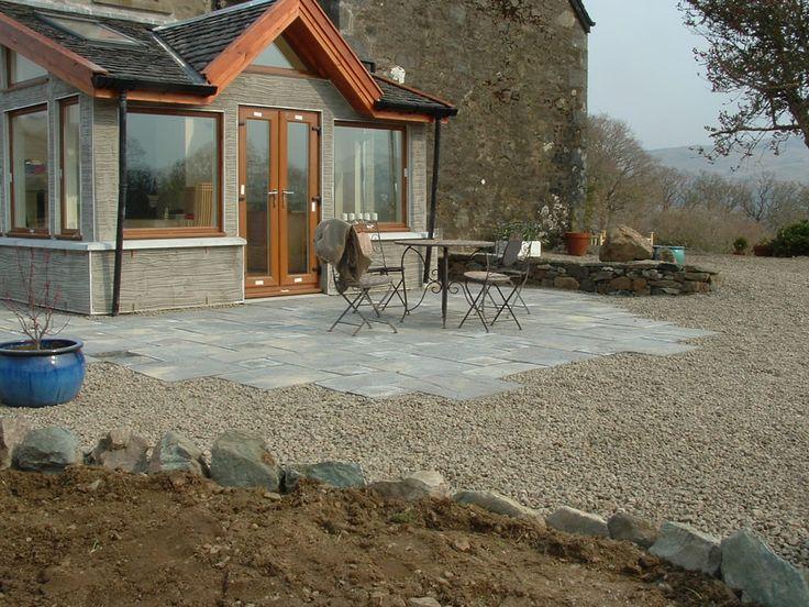 ides porche ides luarrire ides de jardin projets extrieurs ides de plein air conception de la terrasse retraite patios paving ideas