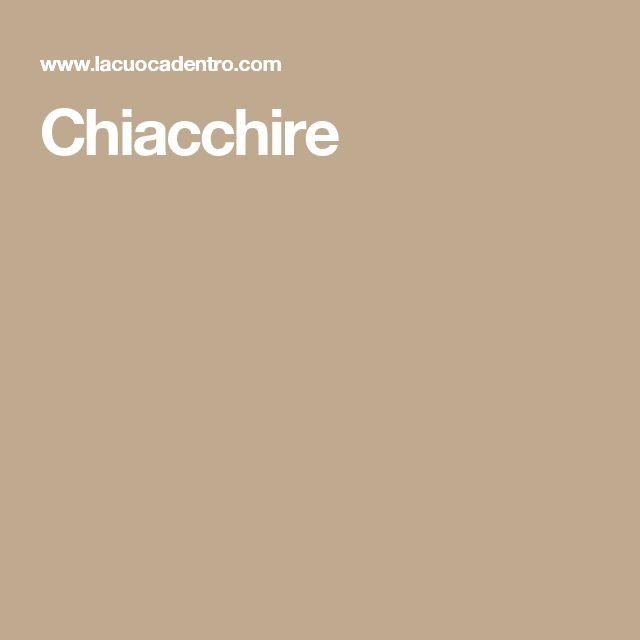 Chiacchire
