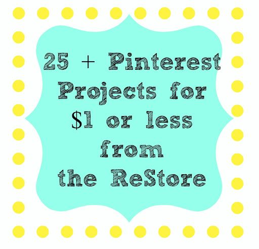 Best source for craft supplies. Check to see if you have a ReStore in your area. (I just found my first ReStore and went there today - It was so much fun - Loved it!)