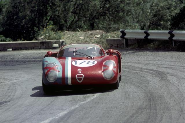 Targa 1968; Alfa Romeo