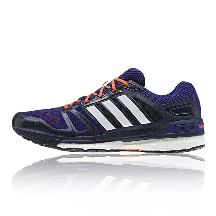 adidas Supernova Sequence 7 Mens Purple Sneakers Support Road Running Shoes