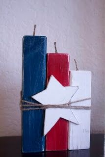 4th of July Decorations, you could use Nature of Art's non-toxic paints for this…