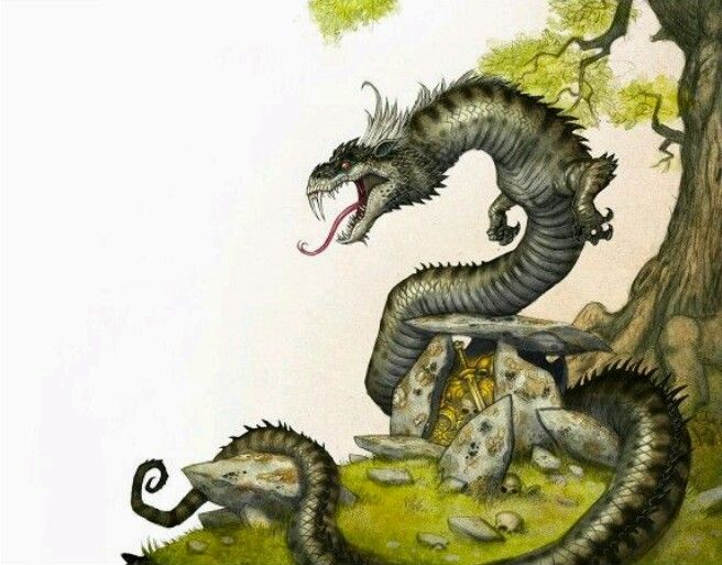 Lindorm Scandinavian Dragon Mythological Creatures Types Of Dragons Norse