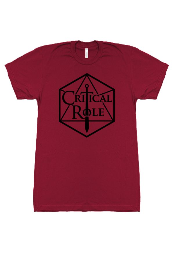 Geek & Sundry, Critical Role Logo T-Shirt  #critcalrole