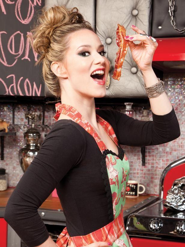 "Nadia Giosia - aka ""Nadia G"" - host of Cooking Channel's ""Bitchin' Kitchen"""