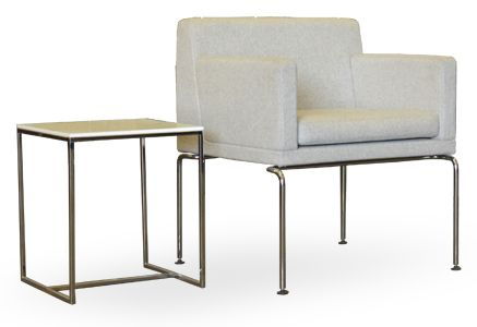 Schiavello Keyt Rest Armchair and side table