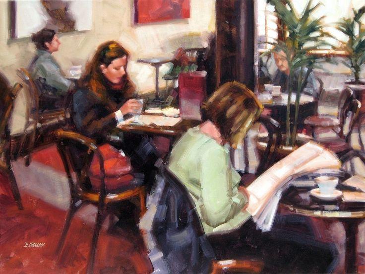 """Bewley's, Dublin "" - Originals - All Artwork - Desmond O'Hagan | Fine Art World"