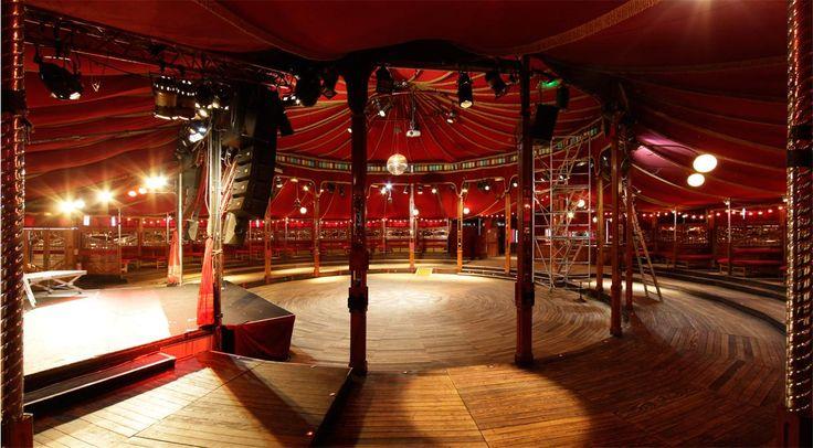Lieu de tournage Paris Ile-de-france : Cabaret Sauvage