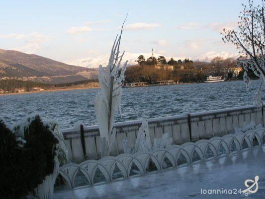 Παγος στα Γιάννενα