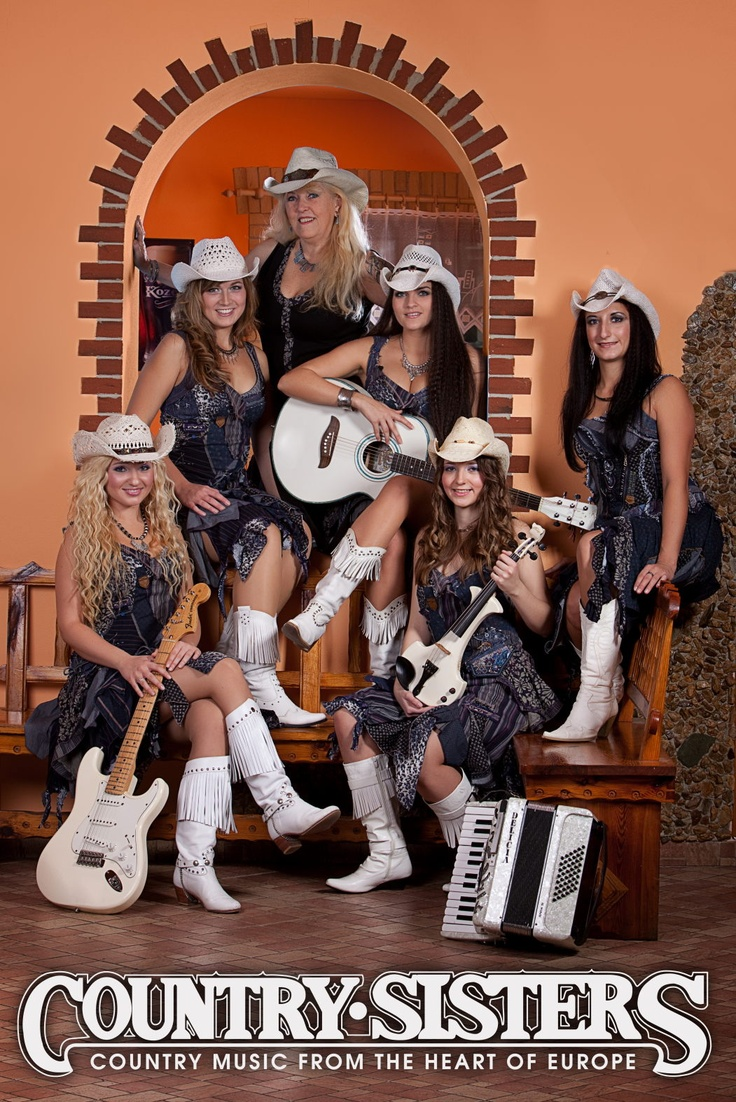May 4th / Country Sisters (CZ): 40th Anniversary, a concert of the band with today's and earlier members and another special guests, live at http://www.eurocentrumjablonec.cz/