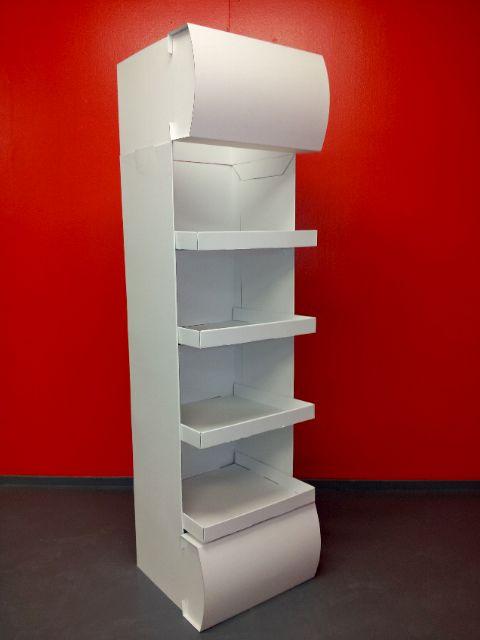 corrugated board.display stand