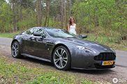 Trouwerij van de dag: Aston Martin V12 Vantage
