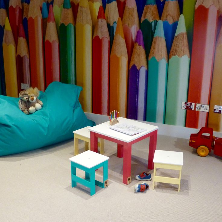Children's Playroom: Full of Colour and Fun.