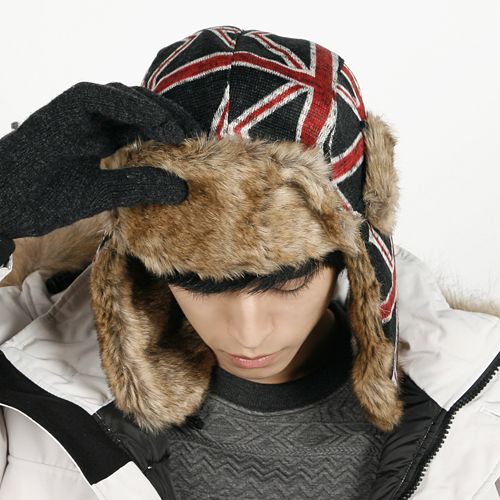Union Jack Trapper Hat