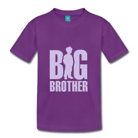 Camiseta manga corta niño  Hermano mayor    MYC Shop   #camisetaniño #hermanomayor #camisetahermano #noticiaembArazo #pregnancy #segundoembArazo #spreadshirt #mycshop