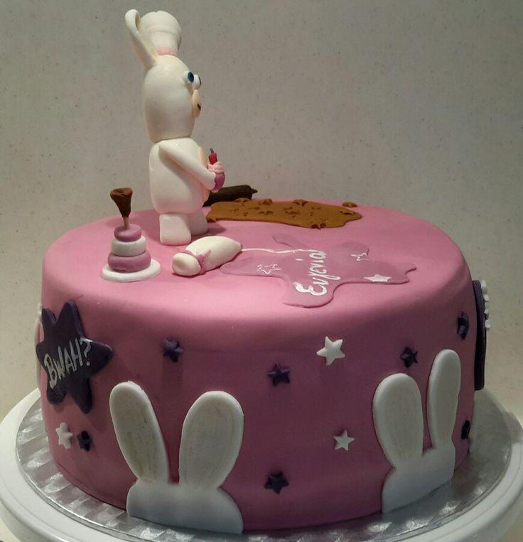 Rabbids invasion cake(4)