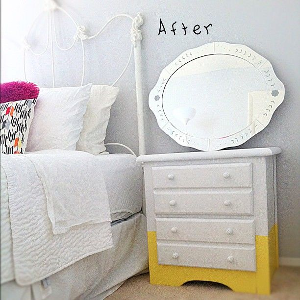 Love Elizabeth's night stand redo!