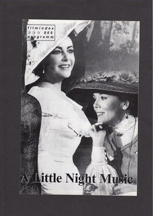 FIP Filmprogramm  869 A Little Night Music - Elizabeth Taylor, Diana Rigg