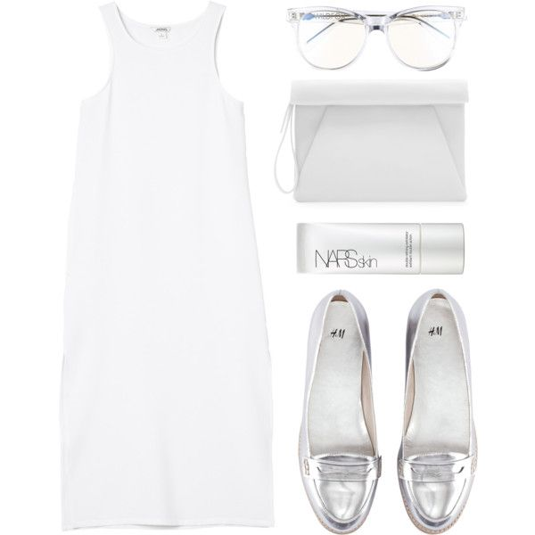 """Look 12 - Metallic Love"" by splashthestyle on Polyvore polyvore, fashion set, fashion, ootd, collage, minimal, outfit"