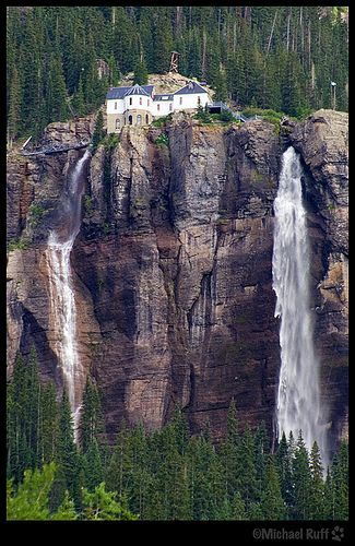 Bridal Veil Falls Telluride Colorado by mcruff, via Flickr