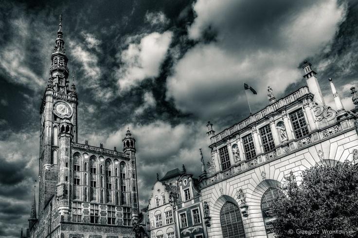 Possibly my favorite city outside of Warsaw...so far! Gdansk, Poland. Gdańsk, Polska