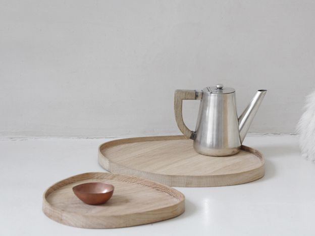 Wooden trays — Caroline Gomez