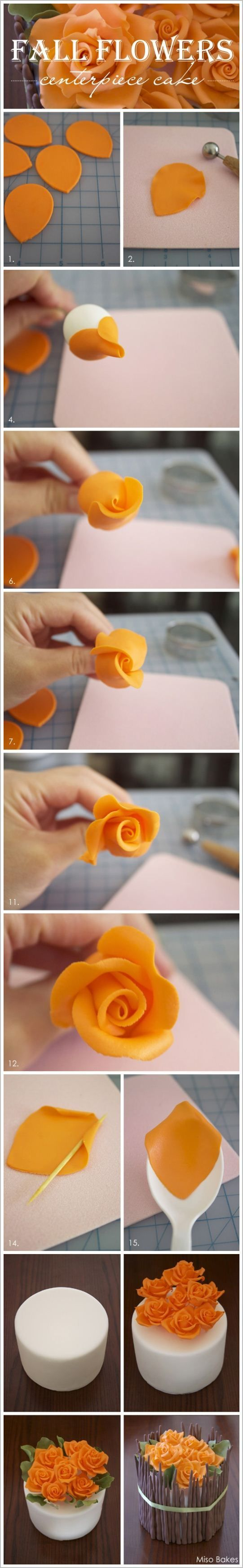 Air Dry Clay Tutorials: Easy Roses to Make with Clay #Food-Drink