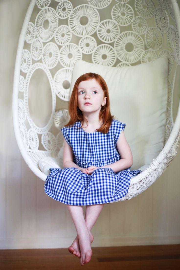 Kitsentials Mabel Smock. #Handmade #Girls Dresses