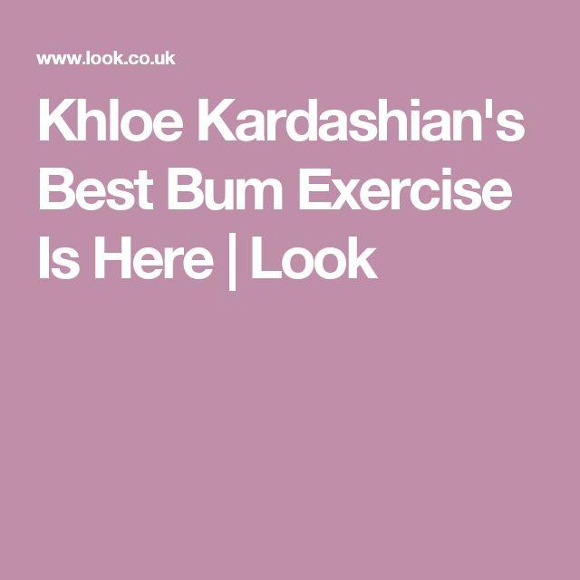 Khloe Kardashian's Best Bum Exercise Is Here | Look