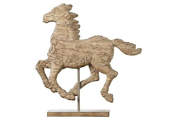 Galloping Horse Objet on OneKingsLane.com: Hors Art Gallop, Gallop Hors, One King Lane, Joss And Maine, Hors Objet, Horse, Hors Statuett, Genoa Hors, Tans Hors