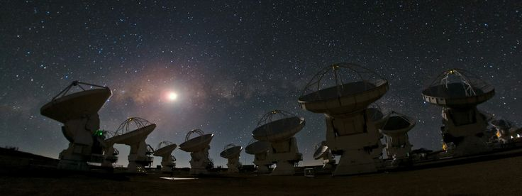 ALMA and a starry night — a joy to behold | ESO