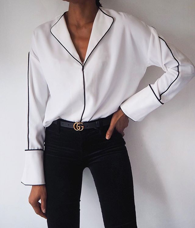 Monday...Simple, clean lines #officeinspo [Outfit details http://liketk.it/2qoQU ]