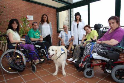 El Hospital San Juan de Dios de Santurtzi (Vizcaya) ha desarrollado un programa de terapia con animales que ha tenido unos excelentes resultados