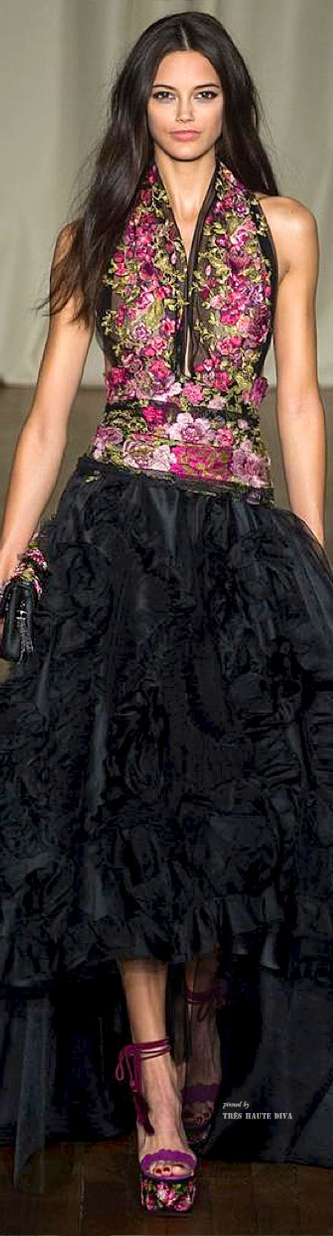 LFW Marchesa Spring/Summer 2015 RTW. Love everything about this!