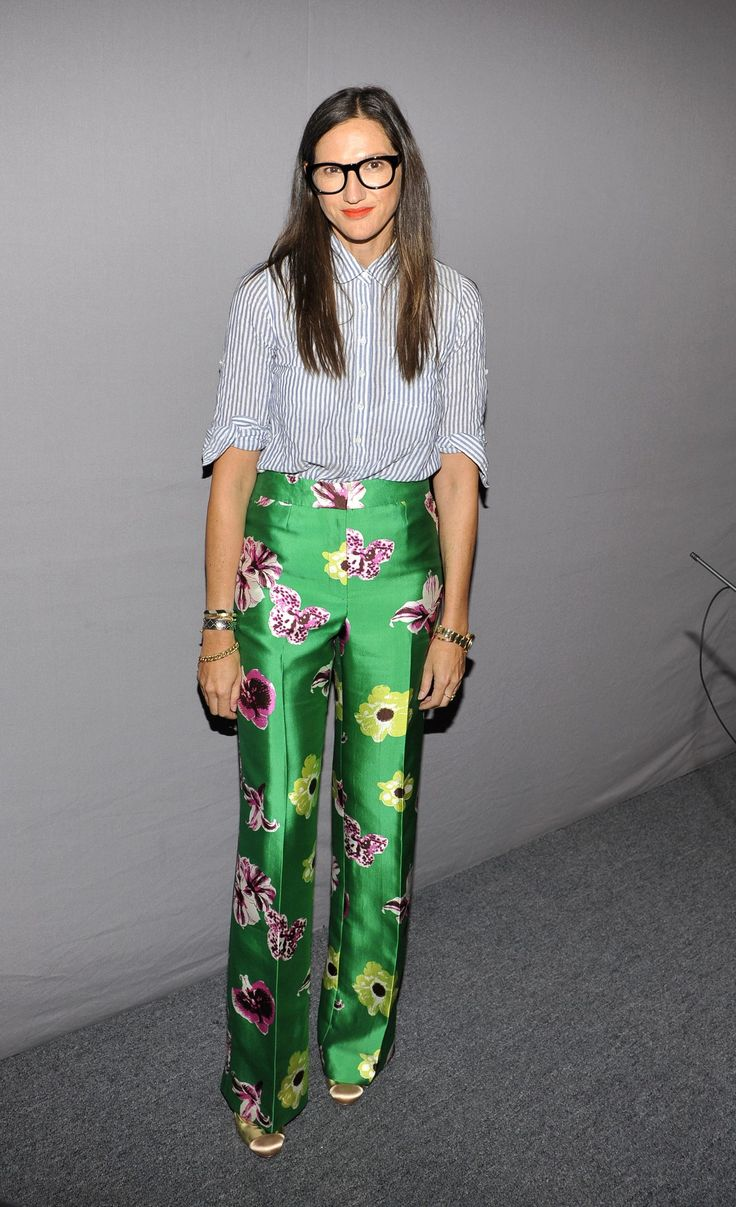 NEW YORK, NY - SEPTEMBER 11: Jenna Lyons attends the J.Crew presentation during Spring 2013 Mercedes-Benz Fashion Week at The Studio Lincoln Center on September 11, 2012 in New York City. (Photo by Michael N. Todaro/WireImage)