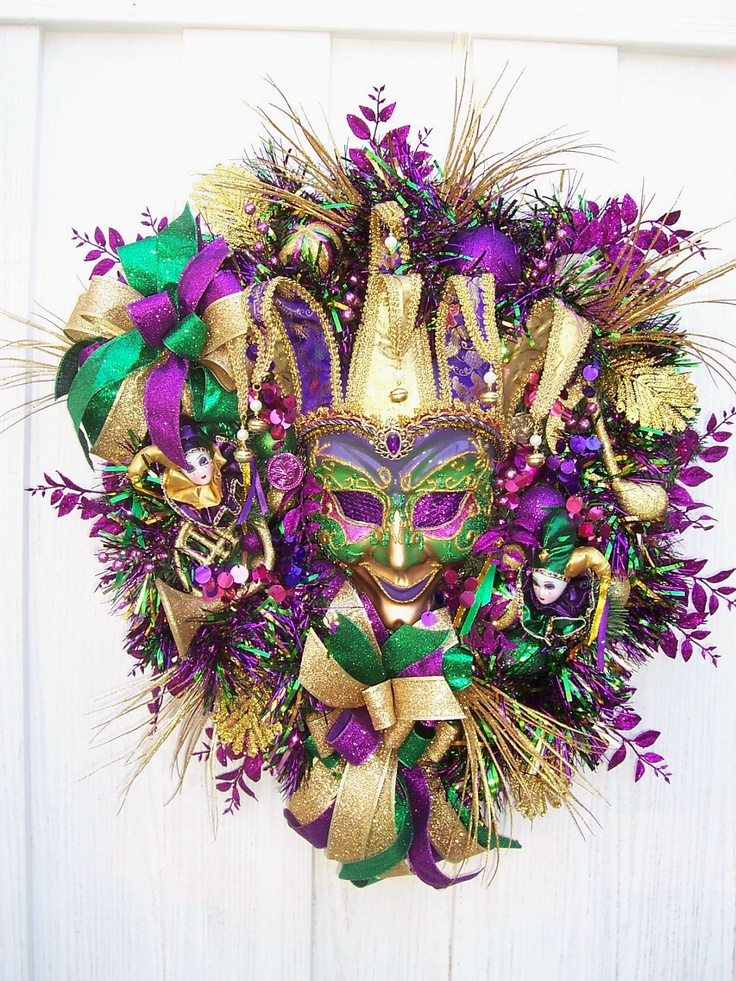 103 best images about tree tops wreaths and garlands for Decoration carnaval