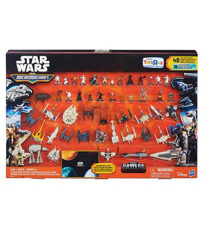 For Oakland - Star Wars micro machines - many different packs available - Star Wars Micro Machines Pack Ultimate Saga Battles