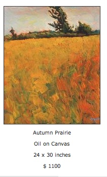 autumn prairie lovely layering of color