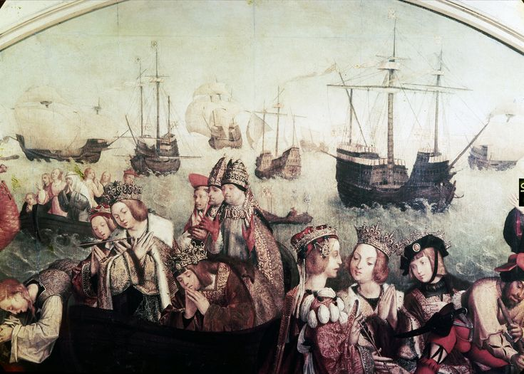 Martírio das onze mil virgens, Museu Nacional de Arte Antiga, Lisboa, Portugal