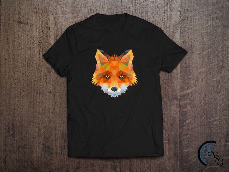 Polygonal Fox T-Shirt