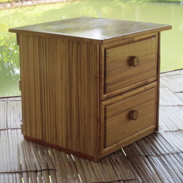 Furniture Bamboo Bedside Table