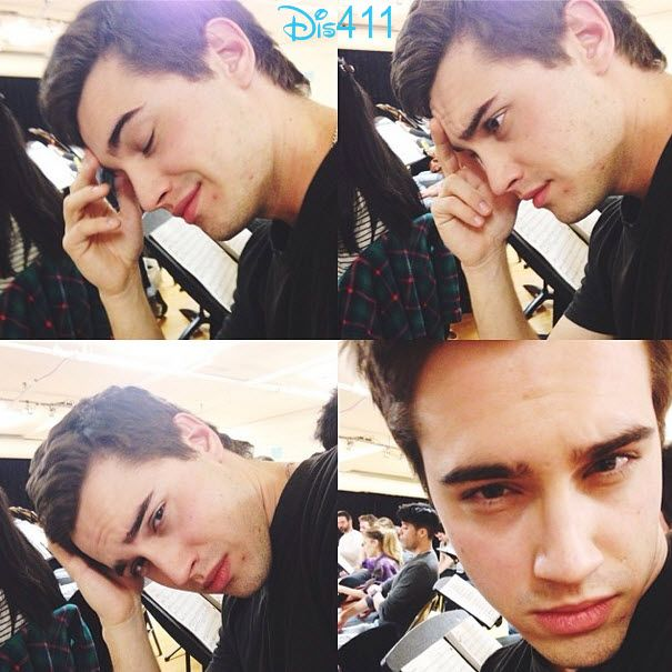 """Dove Cameron made it to New York City to see her guy Ryan McCartan! The """"Cloud 9"""" star is spending time with him as he is rehearsing for this role on Hea"""