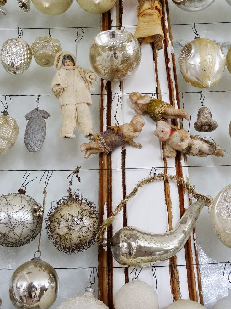 Die besten 25 antike weihnachtsschmuck ideen auf for Antike weihnachtsdeko