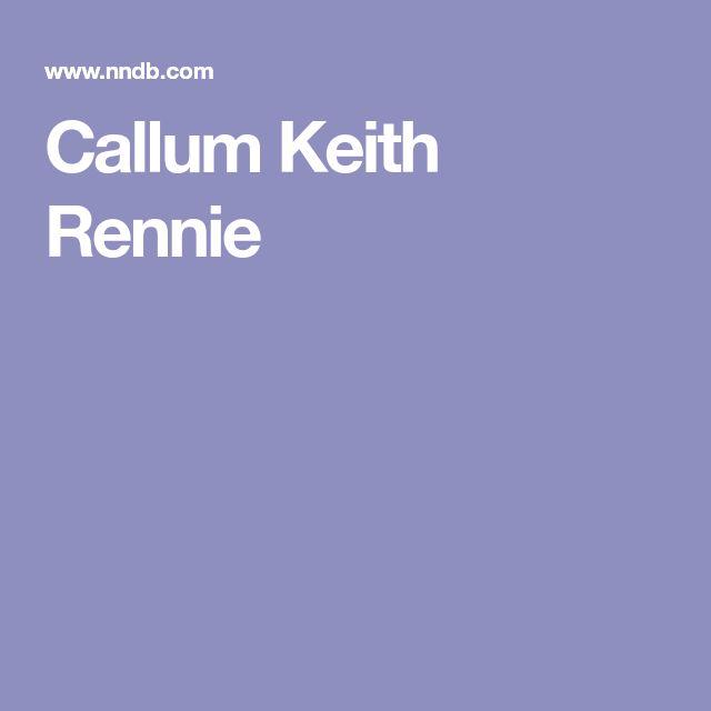 Callum Keith Rennie