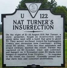Image result for nat turner rebellion