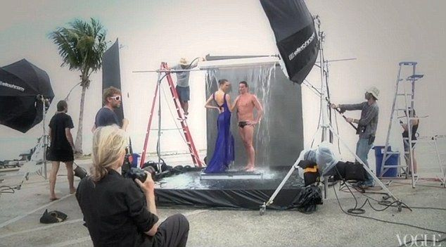Behind The Scenes Of Annie Leibovitz S Olympic Photoshoot