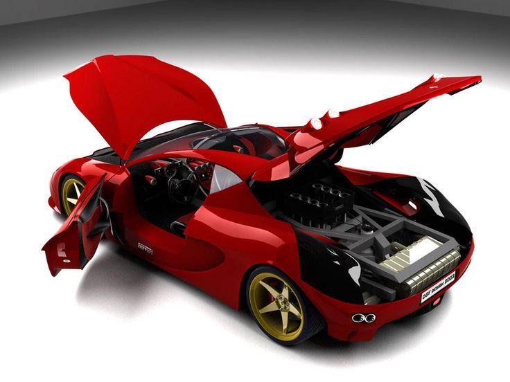 Wallpaper Mobil Ferrari Free Download