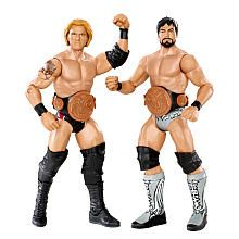 "WWE Series 11 Battle Pack Action Figure 2-Pack - Heath Slater vs. Justin Gabriel - Mattel - Toys ""R"" Us"